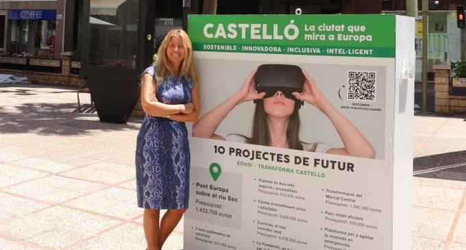 Castelló fomenta la mobilitat sostenible i el respecte cap al medi ambient gràcies al finançament europeu