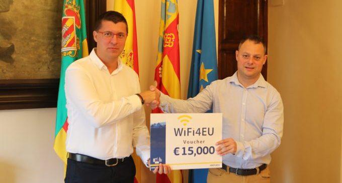 Castelló rep 15.000 euros per a instal·lar wifi gratuït en espais públics