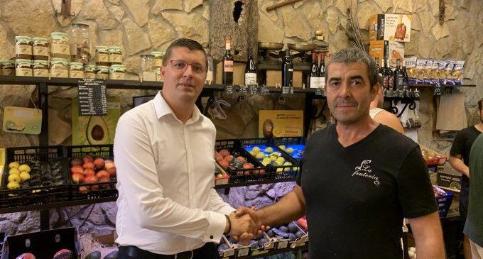 L'Ajuntament de Castelló vol incrementar la seua comunicació amb els comerços locals