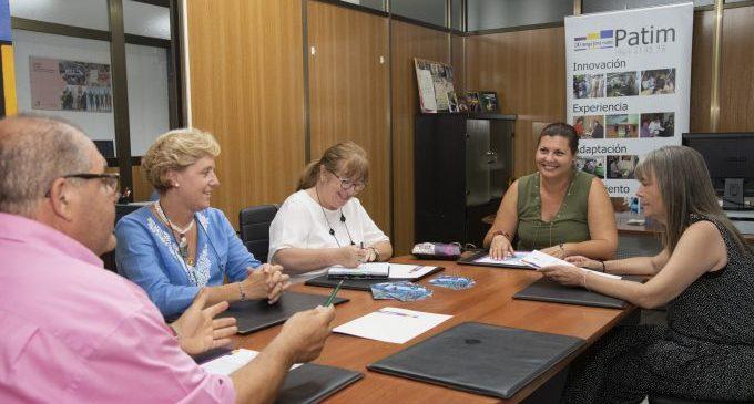 Diputación y la asociación Patim trabajan para prevenir las adicciones en los municipios de interior