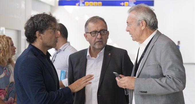 """La Diputació i el director de l'aeroport de Castelló asseguren que aquest esdevindrà """"un pol de desenvolupament industrial que frene la despoblació"""""""