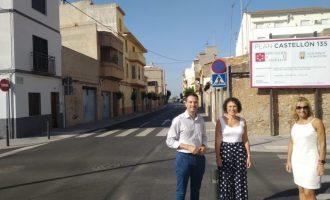 Diputació destina 150.000 euros a Almassora perquè s'eliminen els problemes d'accessibilitat del carrer Sant Lluís