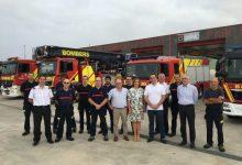 Diputació visita el parc de bombers del Baix Maestrat, que presta assistència a unes 80.000 persones