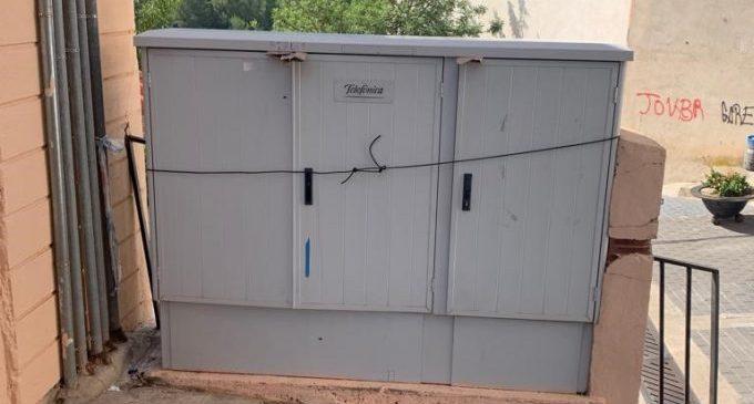 Diputació demana a Telefónica que restablisca els serveis de telefonia fixa i internet a Montanejos