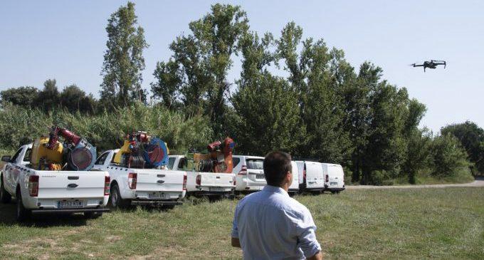 La Diputació inicia hui els tractaments per a combatre la presència de mosquits en el sector nord