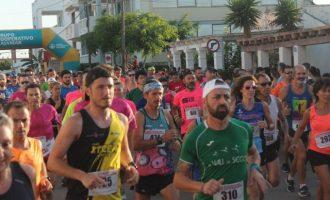 La Volta a Peu de la Platja Casablanca d'Almenara va acollir 700 atletes que concursaren en categoria absoluta