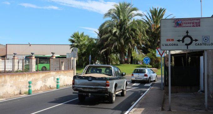 Castelló millora la seguretat viària amb la repavimentació de la Quadra dels Cubos