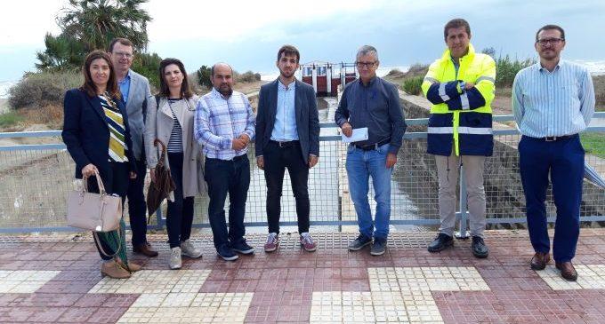 Castelló incrementa la seua capacitat d'evacuació en les sèquies de l'Obra i la Ratlla