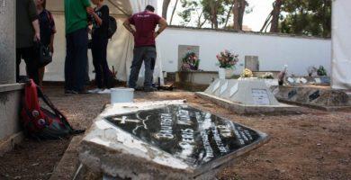 Castelló enceta la segona fase de les exhumacions per identificar les restes de huit afusellats pel franquisme