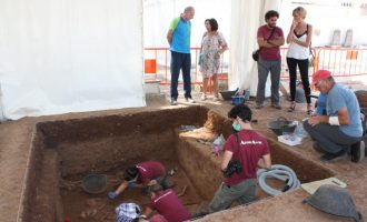 Encontrados los restos de cuatro fusilados durante la segunda fases de exhumaciones en el cementerio civil de Castelló