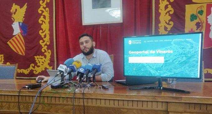 Innovación Digital de Vinaròs presenta el Geoportal, la nueva herramienta de información para la ciudadanía