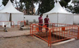 Las exhumaciones de Castelló avanzan a buen ritmo con la apertura de una tercera fosa