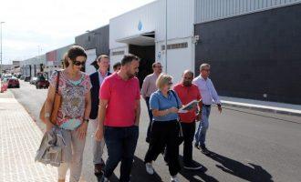 Castelló reforça la competitivitat empresarial amb la modernització del polígon Pullman