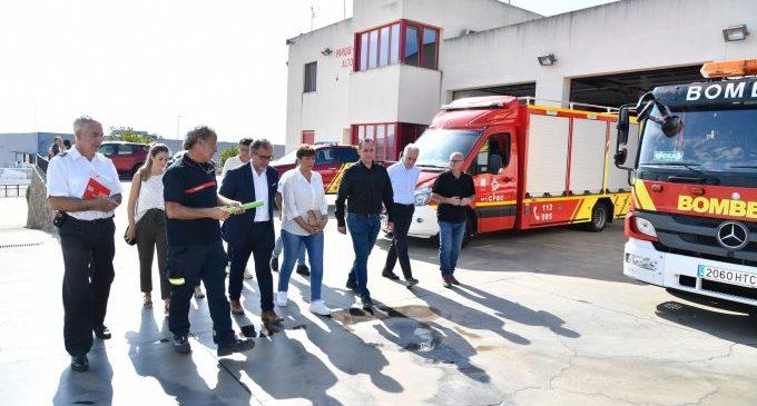 José Martí destaca la continua formación de los bomberos del parque profesional del Alto Palancia y mantiene su compromiso de seguir mejorando el servicio