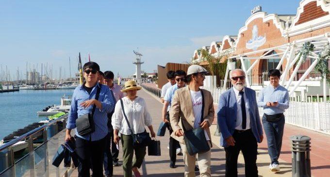 Una delegació coreana s'interessa per les oportunitats comercials i d'oci del Port de Castelló