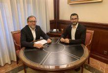 El president de la Diputació i l'alcalde de l'Alcora aborden la necessària agilitació del pla d'urbanització del parc de voluntaris de Protecció Civil