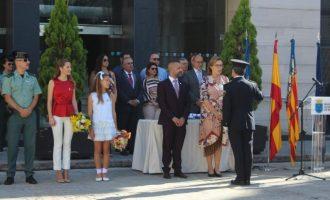 La Policia Local de Borriana celebra amb un acte institucional el seu patró San Miguel