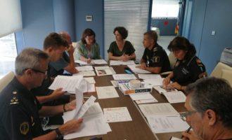 Almenara prepara l'operatiu policia per a les festes patronals