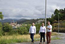 José Martí visita les obres  de neteja i de millora de la visibilitat i la seguretat viària de la  CV-240