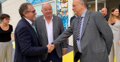 José Martí asiste a la inauguración de la ampliación del centro de rehabilitación infantil de 'Creixem' en Vinaròs