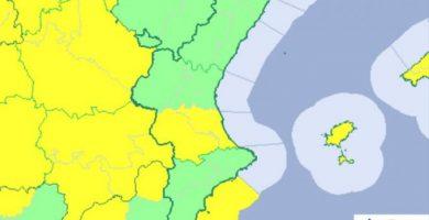 La AEMET ha informado que mañana cesará la gota fría en la provincia de Castelló