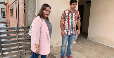 La Diputación de Castellón estudiará fórmulas para retomar el proyecto de la Casa de Cultura de Borriol, paralizado desde hace una década