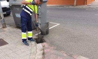L'Ajuntament de Vinaròs posa en marxa els treballs de neteja de barrancs i rieres