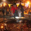 """Almenara demostra la seua solidaritat en el """"sopar de les calderes"""""""