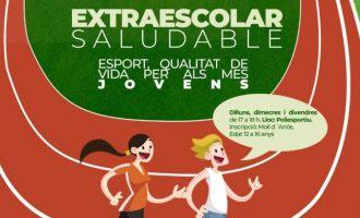 L'Ajuntament d'Almenara crea una activitat extraescolar saludable per als alumnes de secundària