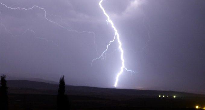 Les tempestes marquen l'inici de setembre a la província de Castelló