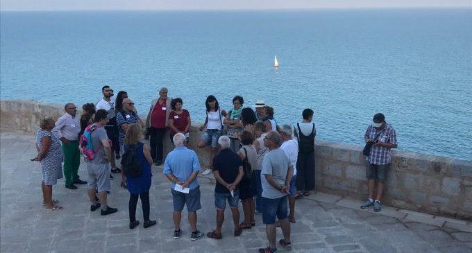 El Castell de Peníscola rep a més de 1.250 persones en la jornada de portes obertes per a celebrar el Dia Mundial del Turisme