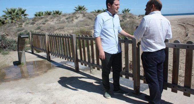 La platja canina de Castelló obre temporada