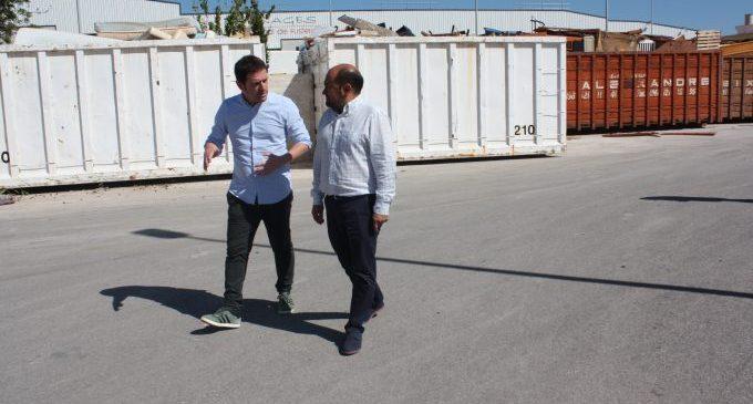 L'ús dels ecoparcs creix vora un 30% en dos anys a Castelló