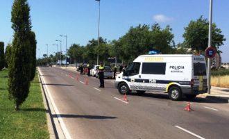 La Policia Local de Borriana realitza una nova campanya de control de l'ús del cinturó de seguretat i sistemes de retenció infantil