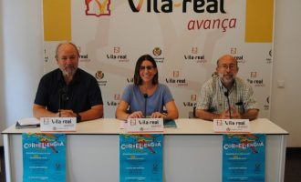 El Correllengua arriba a Vila-real amb activitats en els col·legis i la cercavila cívica en defensa de la llengua i la cultura valencianes