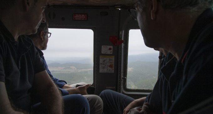 Rápida respuesta de los medios aéreos frente a las alertas de incendio