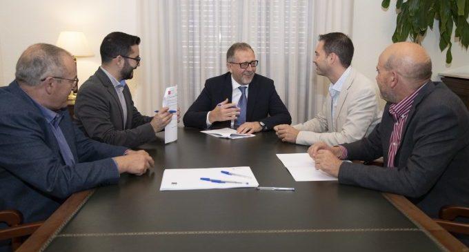 L'Alcora i la Diputació signen l'acord  per al patrocini del CICA