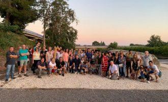 Més de 100 persones participen a Nules en la ruta per a commemorar el Dia Internacional del Turisme