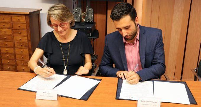 La Fundació General de l'UJI i l'Ajuntament de Sagunt signen un conveni per a impulsar la transferència de coneixement i tecnologia entre universitat i empresa