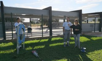 La Vall d'Uixó instal·la jocs d'agility en la zona canina de Juchitán