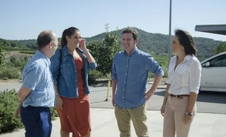 Reciplasa visita al costat de la consellera Mollà la planta de Algímia com a referent per a les futures inversions