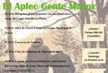 Castelló encara una semana dedicada a sus mayores con el III Aplec