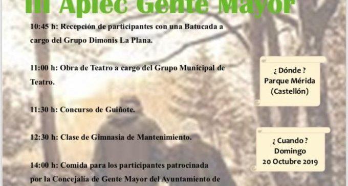 Castelló encara una setmana dedicada als seus majors amb el III Aplec