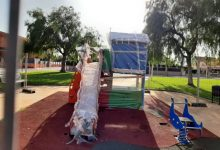 Borriana renova tres parcs infantils i un biosaludable