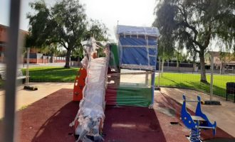 Borriana renueva tres parques infantiles y uno biosaludable