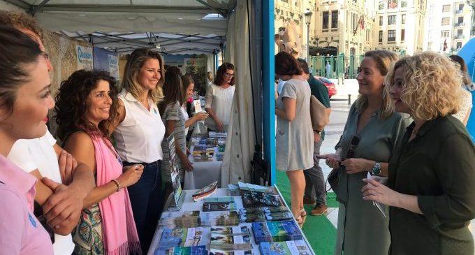 Éxito de público en el 'street marketing'  del  Patronato Provincial de Turismo de Castellón en València