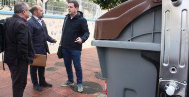 Castelló instala sus primeros 40 contenedores orgánicos