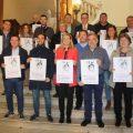 """El ayuntamiento acoge la presentación del cartel del concurso navideño """"Jesus Medrano"""""""