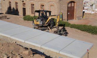 Onda inicia les obres del Castell per a millorar l'accessibilitat