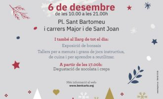 Benicarló iniciarà el Nadal amb l'encesa de l'enllumenat el proper dimecres 4